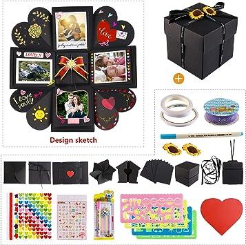 Molto HOWAF Explosion Box DIY Photo Album Scrapbook Creative Album VD55