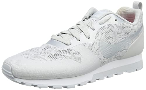 innovative design 00941 46bd9 Nike Women s WMNS Md Runner 2 Br Trainers, Grey (Wolf Grey White