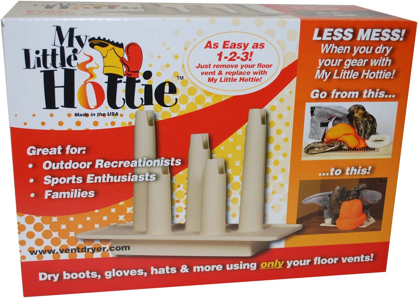 My Little Hottie Winter Clothing, Boot, Ice Skate Vent Dryer, Outdoor, Sports or Family Gear 10925