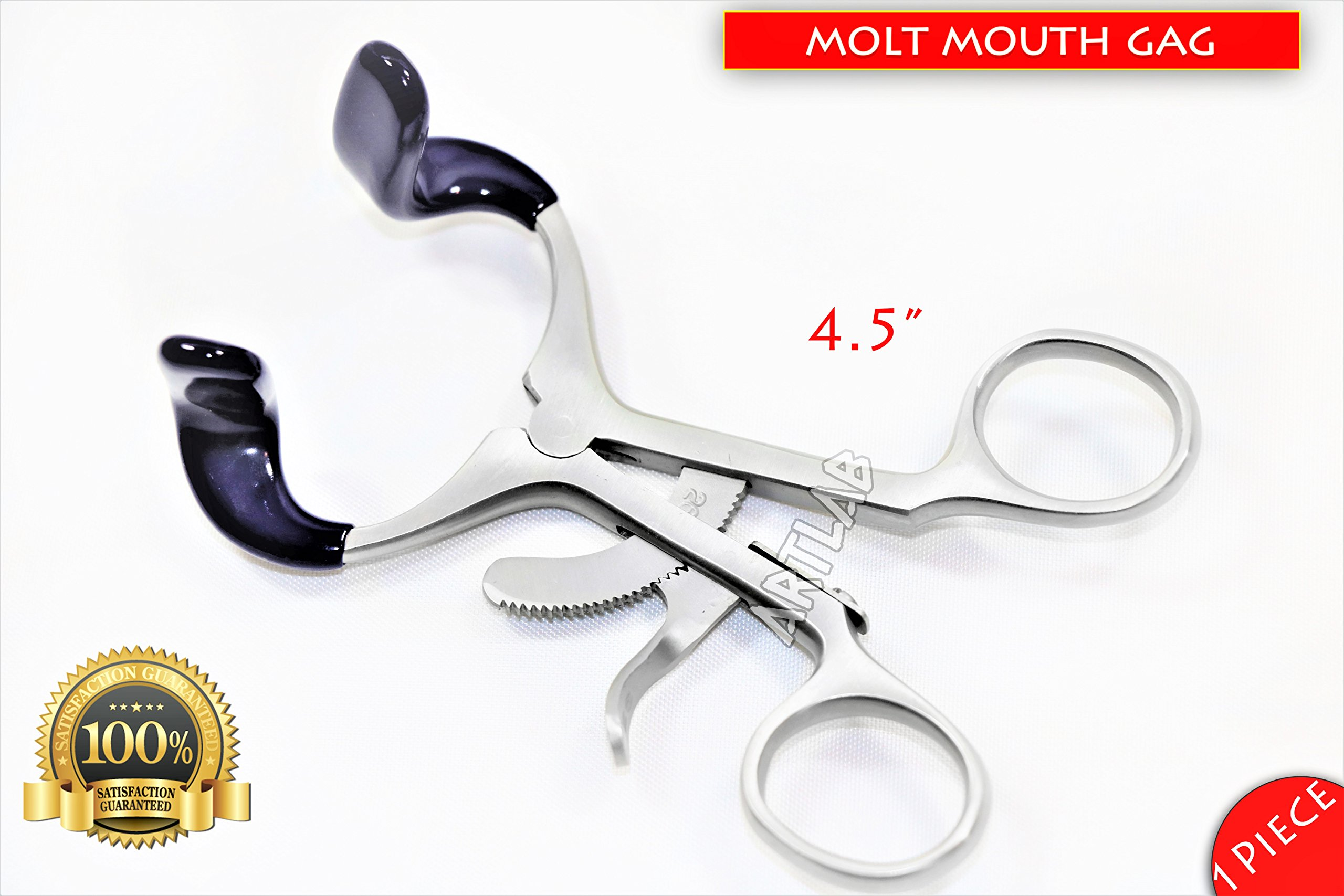 Surgical Dental Mouth Gag Molt 4.5'' Dental Oral Instruments 1pc New! (CYNAMED)