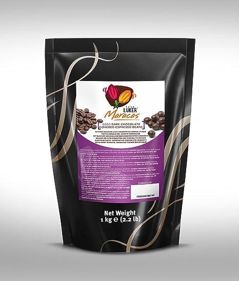 CasaLuker - Granos de Café Cubiertos de Chocolate Negro (espresso beans) 1kg