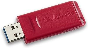 Verbatim 32GB Store 'n' Go USB Flash Drive - PC / Mac Compatible - Red