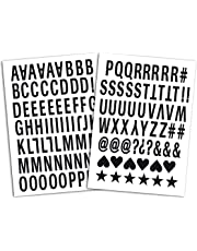 Mademoiselle Toga - MEG604 - Termoadhesivos del Alfabeto de 126 Letras - 15,5 x
