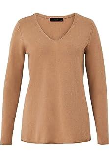 HALLHUBER Color Blocking Pullover gerade geschnitten