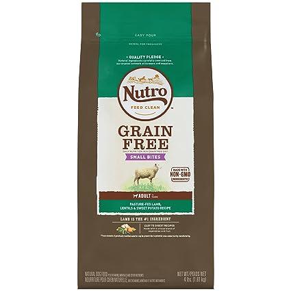 Amazoncom Nutro Grain Free Small Bites Adult Pasture Fed Lamb