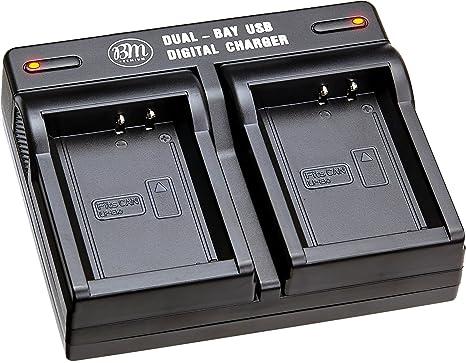 Amazon.com: LP-E10, LPE10 USB Dual rápido cargador de ...