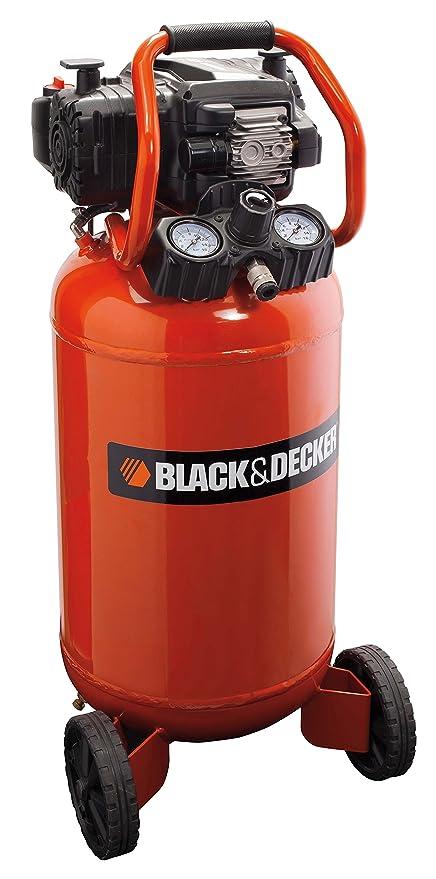 Black+Decker 1803 - Compresor con tanque de 50 L, sin aceite