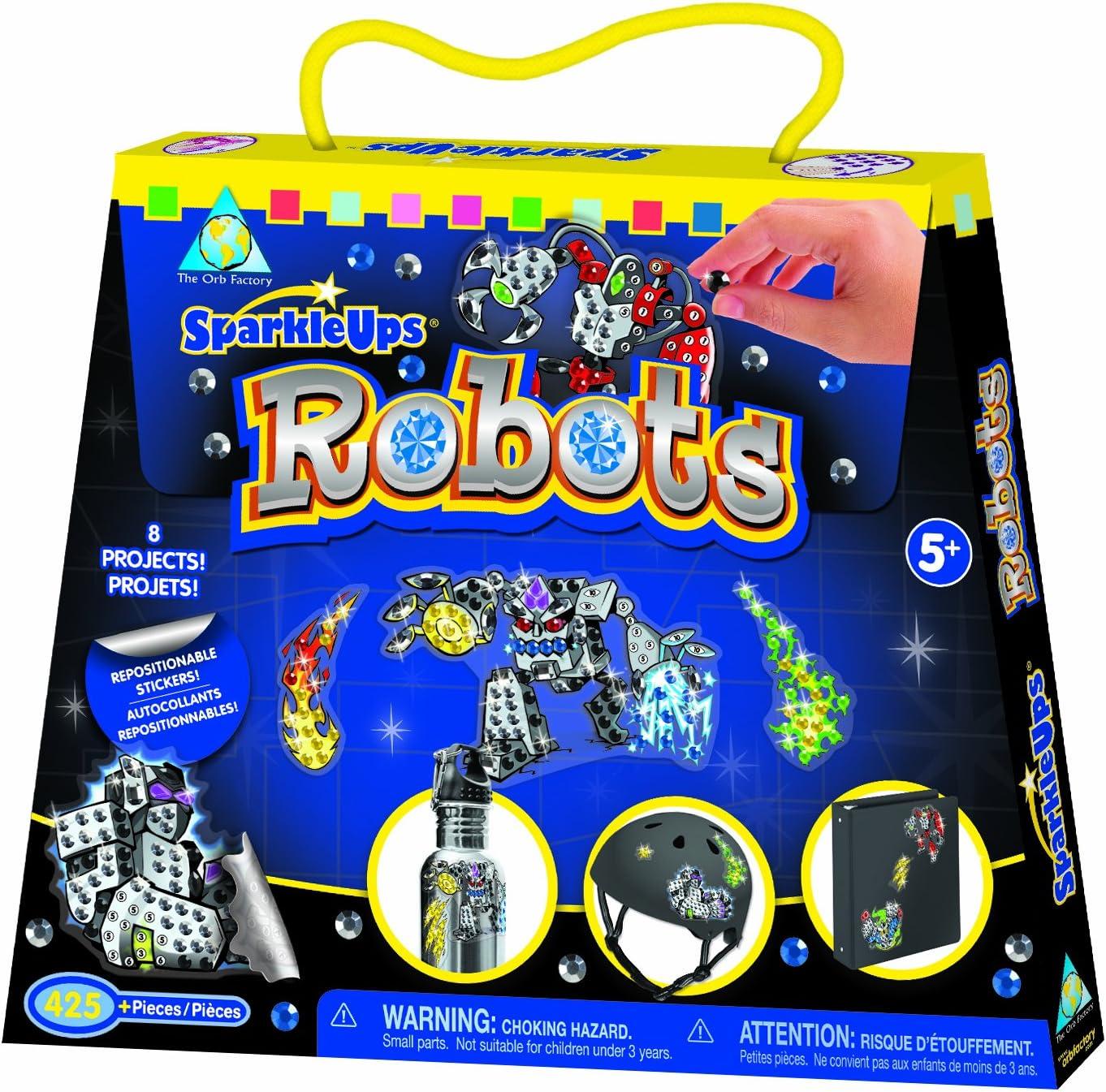 Orb Factory My First Stick Mosaic Robots