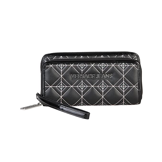 Versace Jeans - Cartera / Monedero estampado diamante mujer ...
