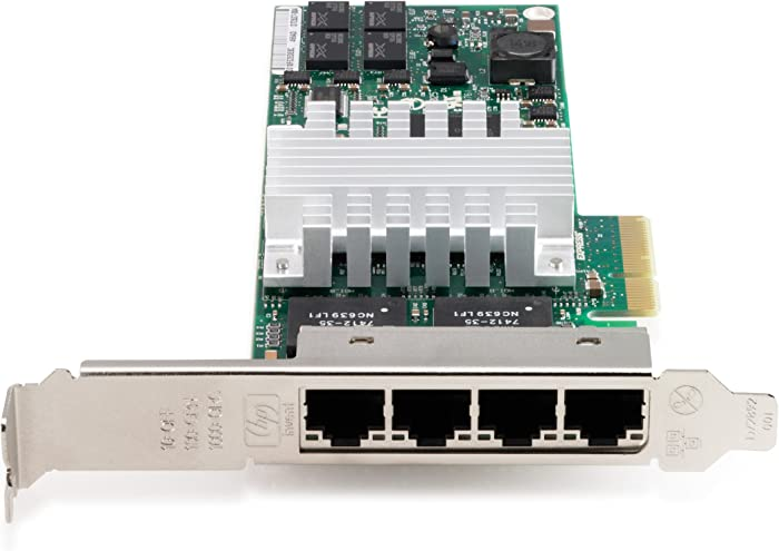 HP NC364T PCIe 4Pt Gigabit Server Adptr