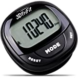3DTriFit 3D Pedometer Activity Tracker | Best Pedometer for Walking with Pause Function & 7-Day Memory for Men & Women. Fitness Tracker Accurately Monitors Steps, Calories Burned, Distance & Speed.