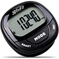 Realalt 3DTriFit 3D Pedometer Activity Tracker | Accurate Pedometer for Walking with Pause Function & 7-Day Memory