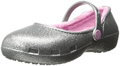 492d5bb44f3e7 crocs Karin Sparkle Lined Clog Mary Jane (Toddler Little Kid)