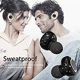 Wireless Earbuds, Touhonest Bluetooth Headphones