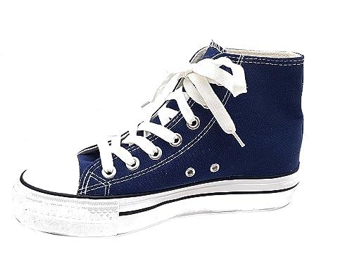 scarpe simil converse alte