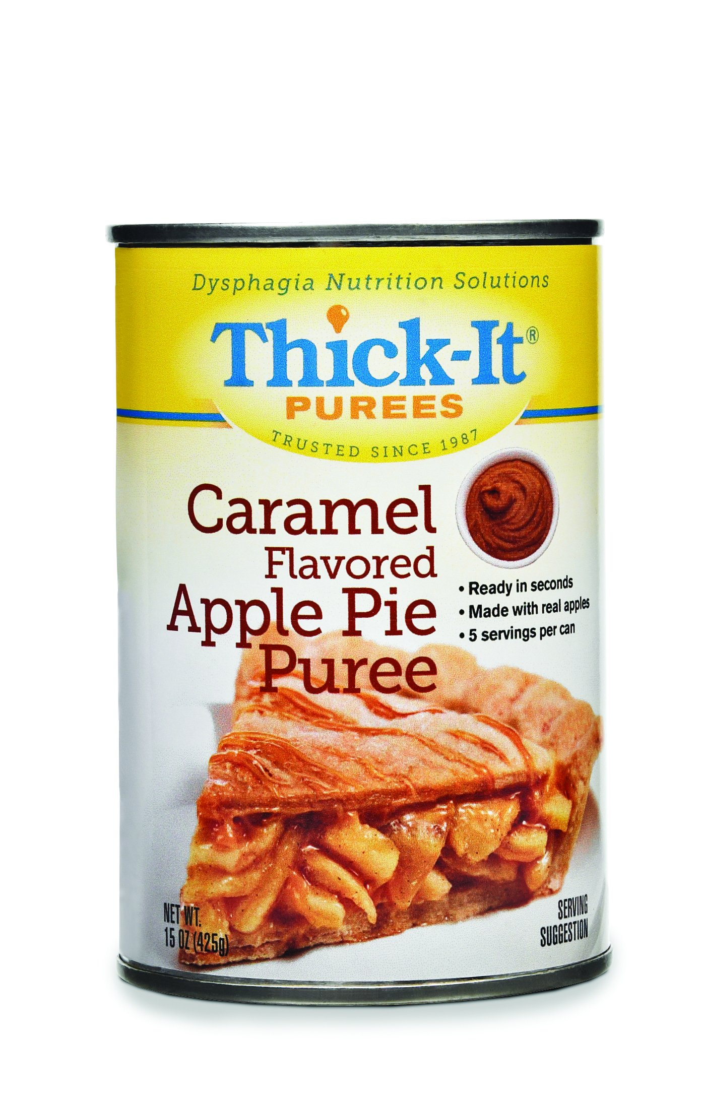 Thick-it Puree Caramel Flavored Apple Pie, 15-Ounce Packages (Pack of 12) by Thick-It