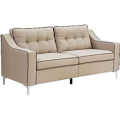 Furniture of America CM6850BG-SF Glenda Furniture Not Applicable, Beige