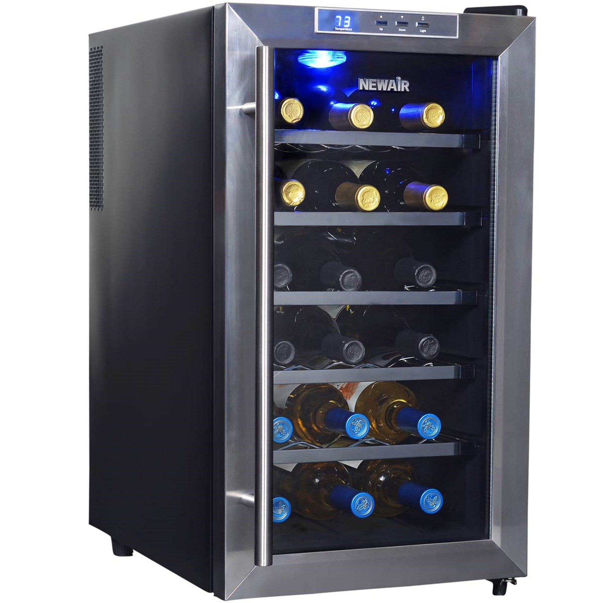 NewAir AW-181E 18 Bottle Thermoelectric Wine Cooler, Black by NewAir (Image #7)