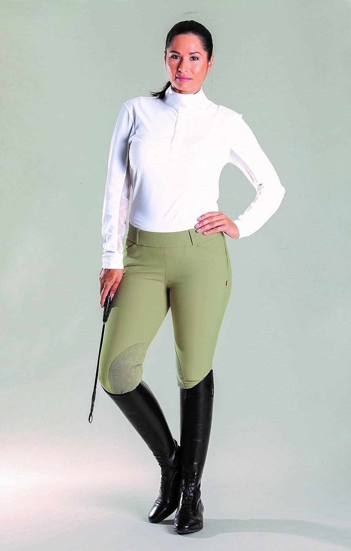 DEVON-AIRE Ladies All Pro Dev Tek Breeches 28 Long 500 Beige