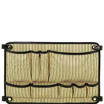 TL Smart Module - Module multifonction en cuir avec poches - Marron foncé Tuscany Leather tkH6X4pJ