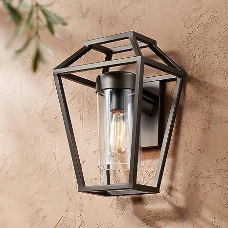 Glass Wall Lamp Outdoor Wall Light Yard Home Lighting Garden Modern Wall Sconce