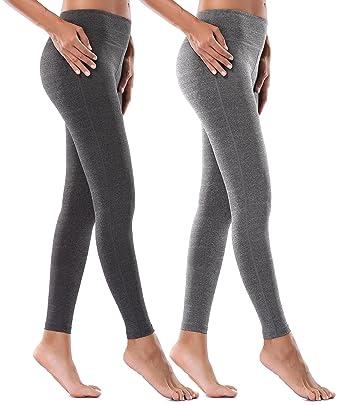 dd76e8452c Amazon.com: MIRITY Women Activewear Yoga Pants Tight Spandex Workout  Athletica Gym Yogapants Color Black+Grey Size M: Clothing