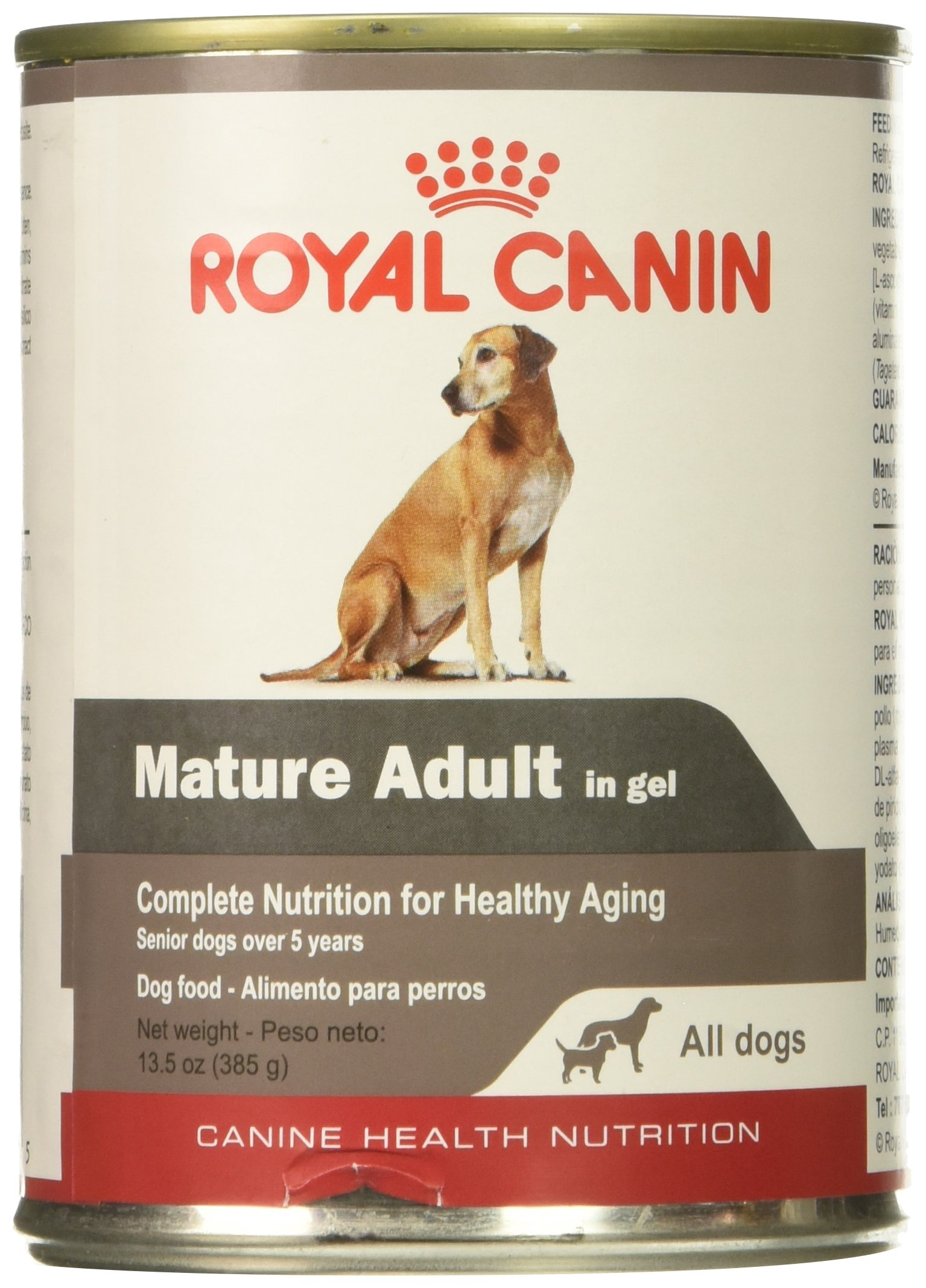 Royal Canin Canine Health Nutrition Mature Adult In Gel Canned Dog Food (Case of 12/1), 13.5 oz
