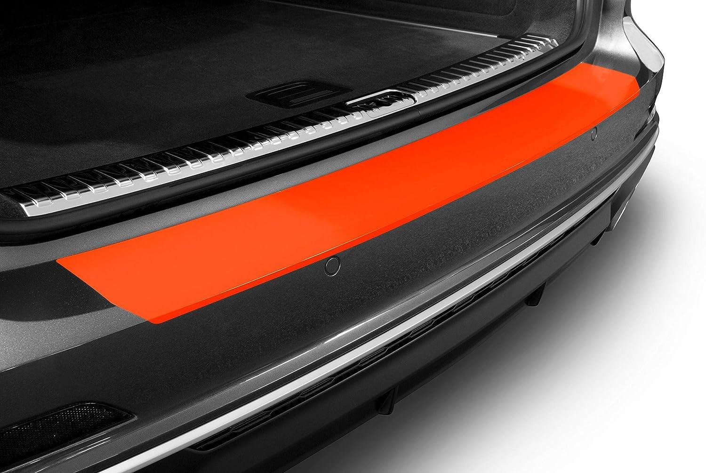 A6 Avant C7 4G I 2011-2018 Luxshield Film de Protection pour Seuil de Chargement avec Racloir Professionnel Carbonique Autocollant Pare-Chocs Peinture