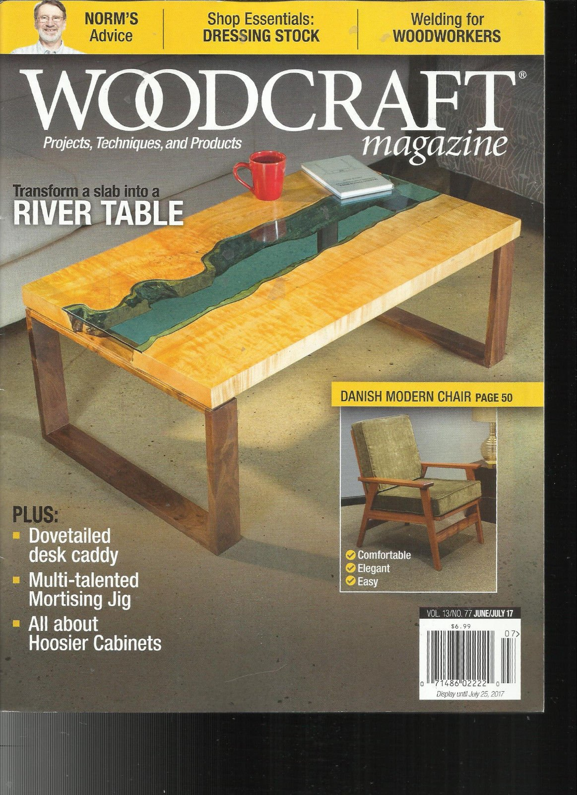 WOOD CRAFT MAGAZINE PROJECTS * TECHNIQUES & PRODUCTS JUNE / JULY, 2017