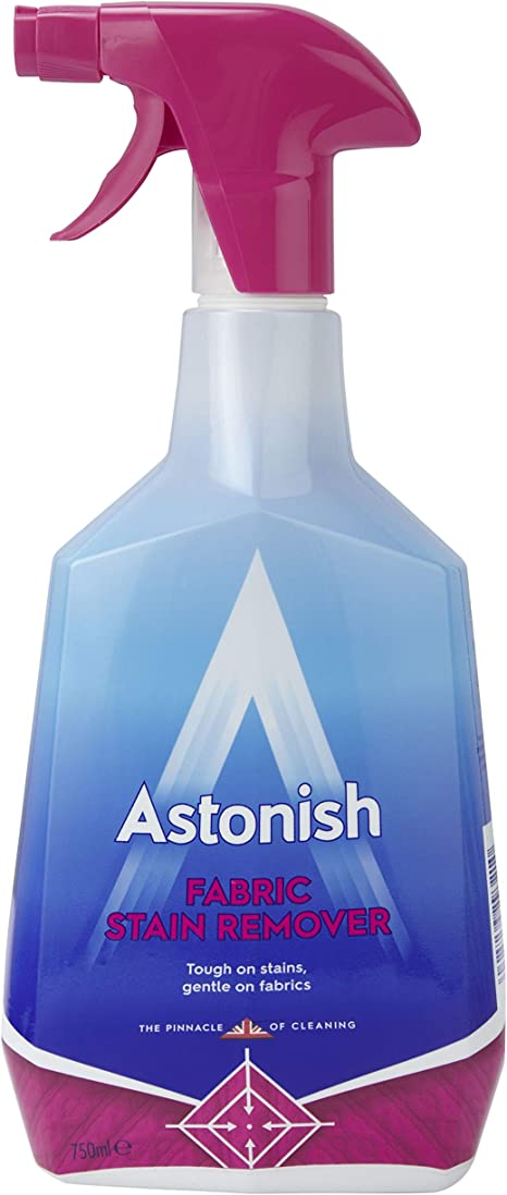 Astonish Fabric Stain Remover Spray Pack Of 12 Amazon Co Uk Health Personal Care