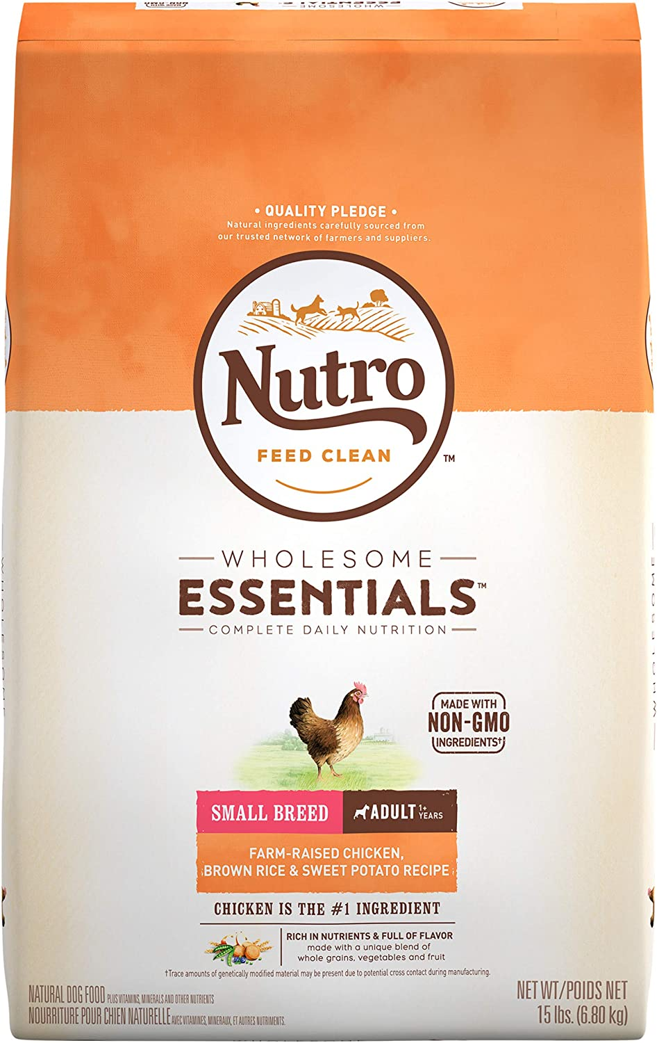 1. Nutro Wholesome Essentials Small Breed