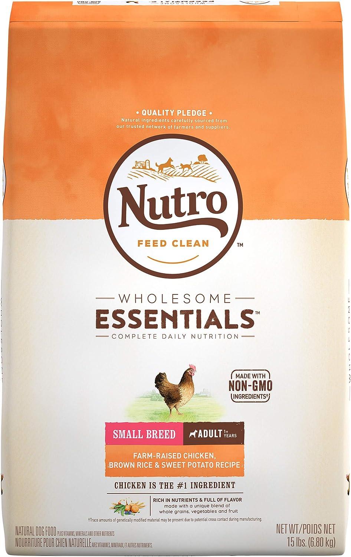 1. Nutro Wholesome Essentials Small Breed