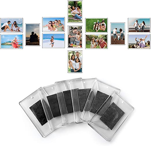 "Magnetic Photo Fridge Frames Photo/'s Pocket  Pack Of 2 for 6/"" x 4/"" FREE P/&P UK"