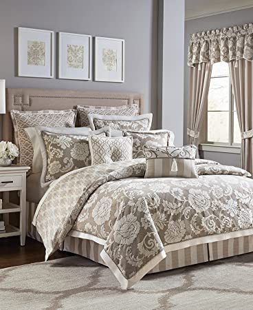 clairmont bedding id headon sets cream croscill comforter colored web collection