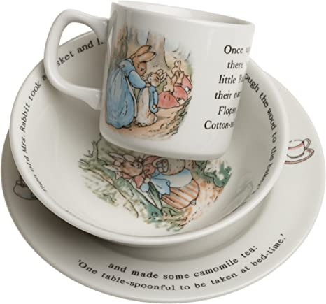 ENGLAND WEDGWOOD Peter Rabbit Bowl and Plate