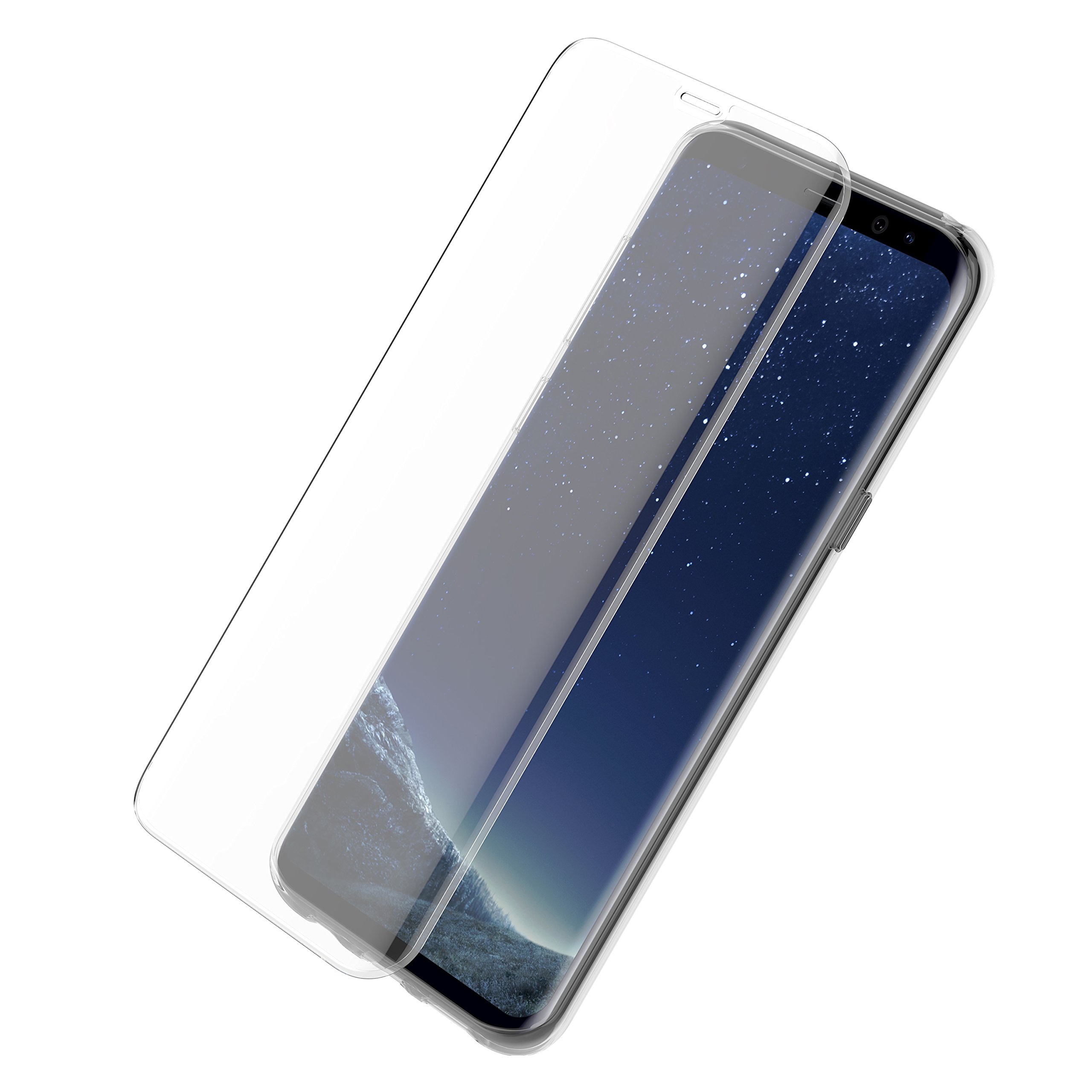 OtterBox Alpha Glass Series Screen Protector for Samsung Galaxy S8+ - Retail Packaging - Clear