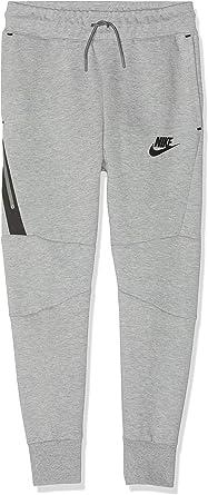 Nike Kids Sportswear Nsw Tech Fleece Pants Dark Grey Heather Black 804818 064 Size M Clothing Amazon Com