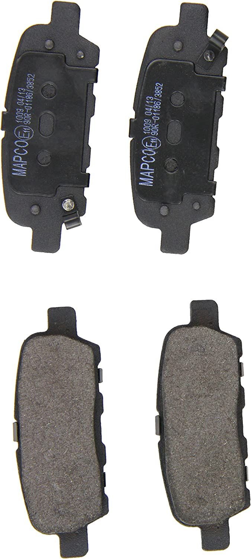 Mapco 6754 Bremsbelagsatz 4-teilig Scheibenbremse