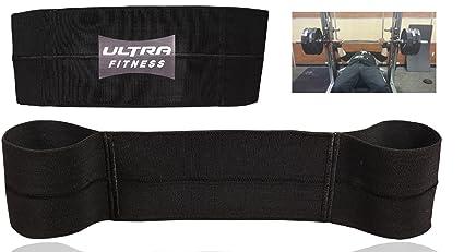 Banda o cinta de resistencia para el gimnasio para hacer pesas, crossfit y press de