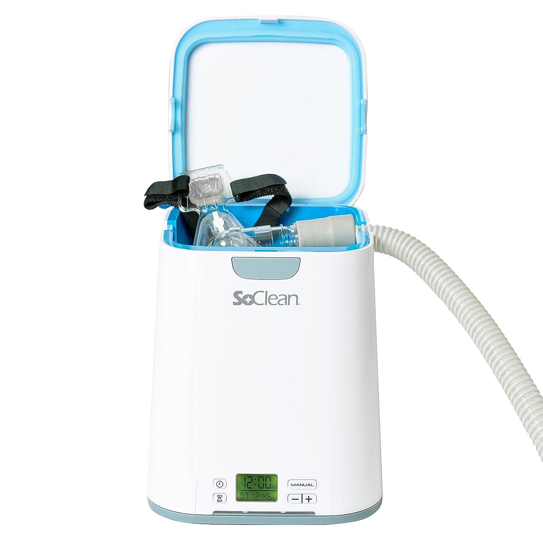 SoClean CPAP - Limpiador & Desinfectante, 2 Esterilizadores para Máscaras de Apnea del Sueño, Mangueras y Equipos: Amazon.es: Hogar