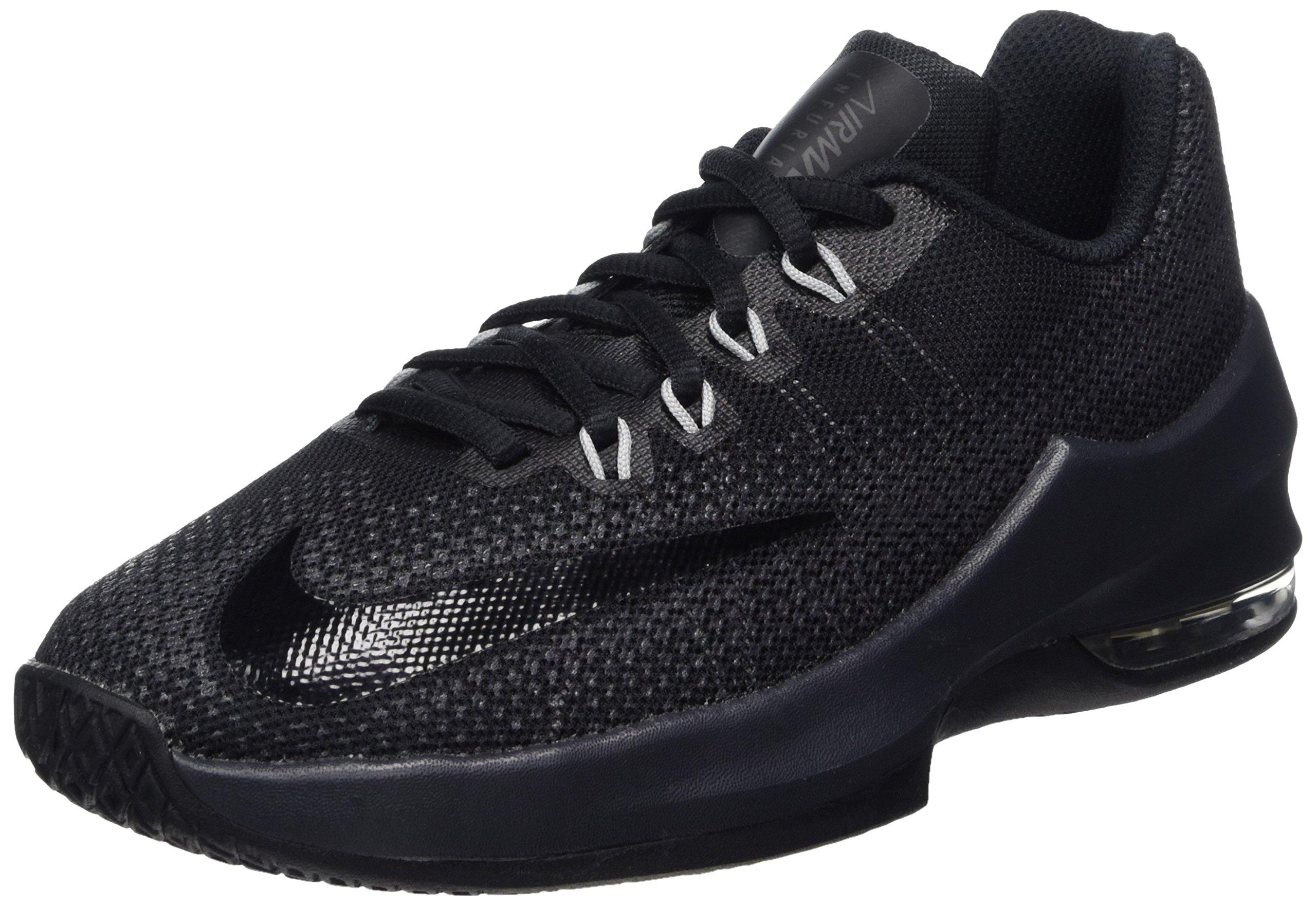 Nike Kids Air Max Infuriate (GS) BlackBlackAnthracite Basketball Shoe 6.5 Kids US