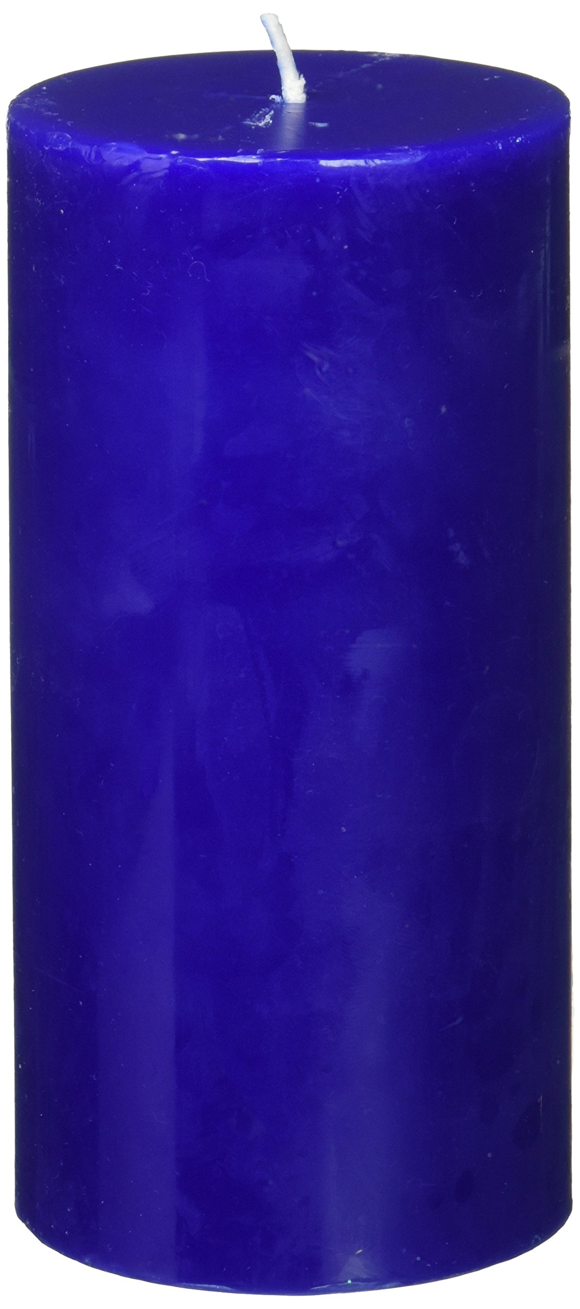 Zest Candle Pillar Candle, 3 by 6-Inch, Blue