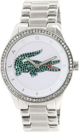 Lacoste , 2000889 , Victoria , Montre Femme , Quartz Analogique , Cadran  Blanc , Bracelet