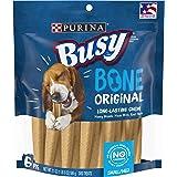 Purina Busy Made in USA Facilities Small/Medium Dog Bones, Original - 6 ct. Pouch