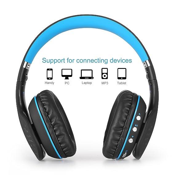 Juego de Auriculares Bluetooth,Beexcellent Glow Auriculares Bluetooth con Micrófono para PS4 / Xbox One / Laptop / Celular: Amazon.es: Electrónica