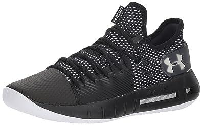 Under Armour Men s Drive 5 Low Basketball Shoe Black (001) White 7 36d87801b1a