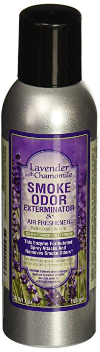 Tobacco Outlet Products Smoke Odor Exterminator 7oz Large Spray, Lavender With Chamomile