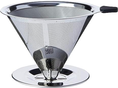 Coador de Café Pour Over, Aço Inox, Bialetti