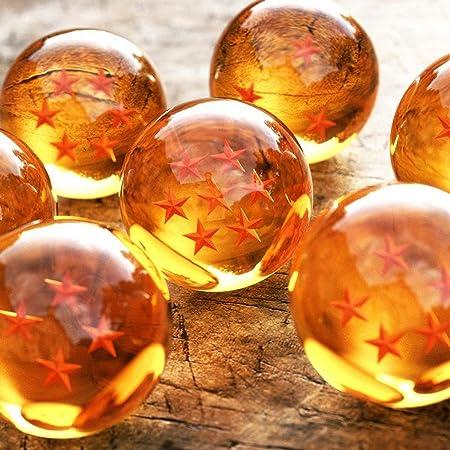 Set de 7 Bolas de Cristal de DRAGONBALL DRAGON BALL + Estuche 4313: Amazon.es: Hogar