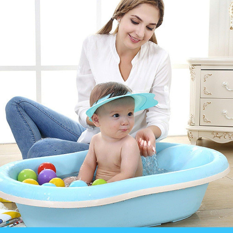 Kinder Shampoo Schutz,Weiche Baby Dusch Badekappe Verstellbarer Kinder Baden Shampoo Kappe Haarewaschen Kopfschutz Kinder Baden Shampoo Kappe f/ür Babypflege